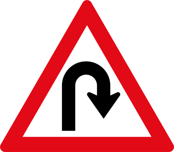 W206: Hairpin Bend Right