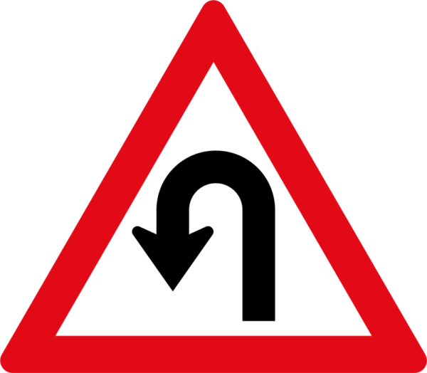 W207: Hairpin Bend Left