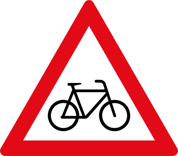 W309: Cyclists Sign