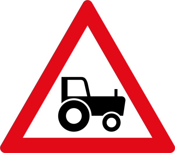 W352: Agricultural Vehicle Sign