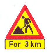 TW336+TIN11.2: Roadwork, for a distance