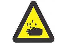 WW04: Warning Of Corrosive Hazard