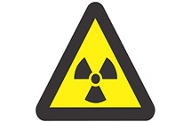 WW06: Warning Of Ionizing Radiation Hazard