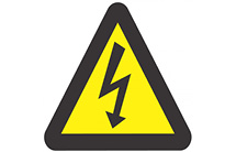 WW07: Warning Of Electric Shock Hazard