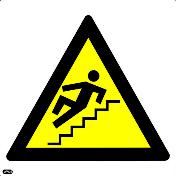 WW22: Warning Of Slippery Steps