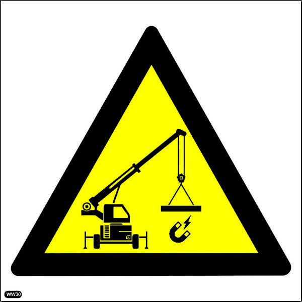 WW30: Beware Of Magnetic Crane