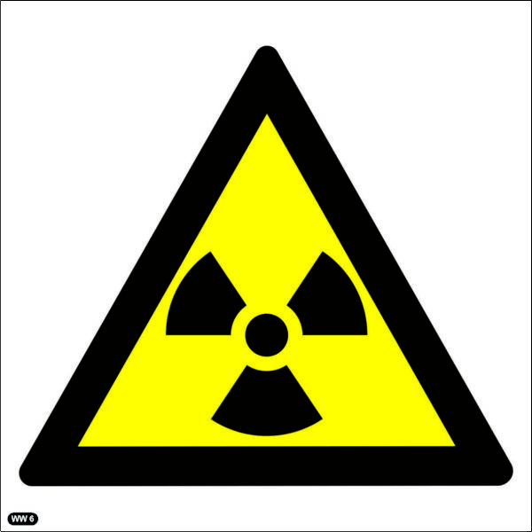 WW6: Warning Of Ionizing Radiation Hazard