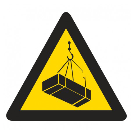 WW8: Warning Of Suspended Loads Hazard