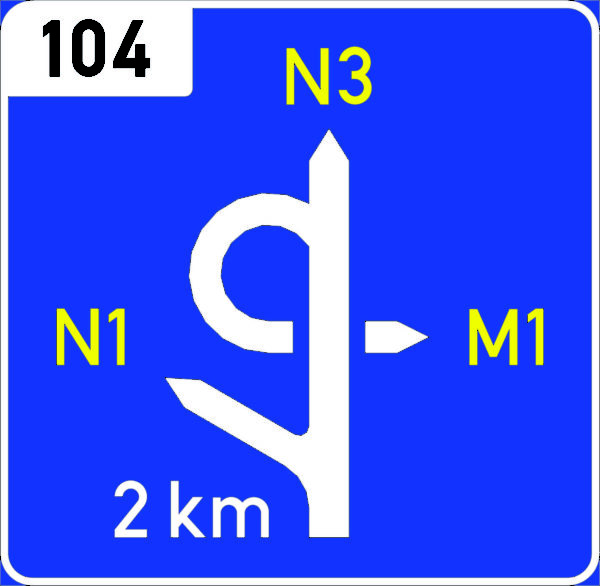 GC1: Pre-advance Exit Direction