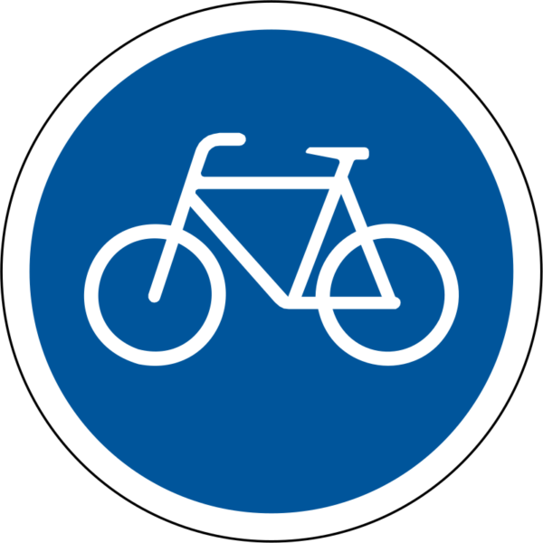 R111: Pedal Cycles Only Sign