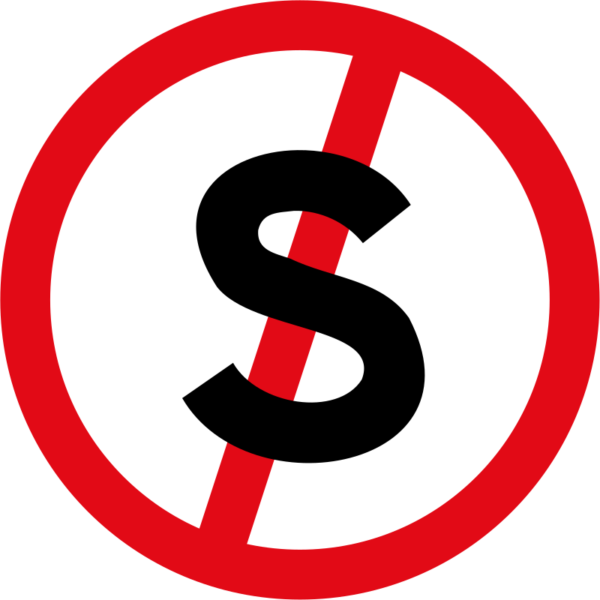 R217: Stopping Prohibited Sign