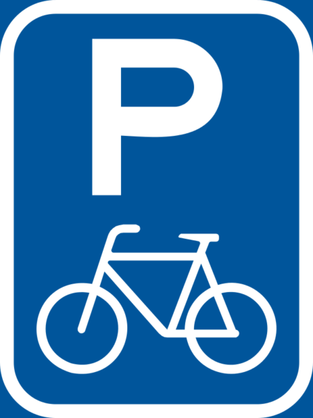 R304-P: Pedal Cycle Parking Reservation Sign