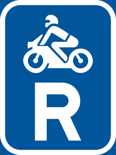 R307: Motor Cycle Reservation Sign