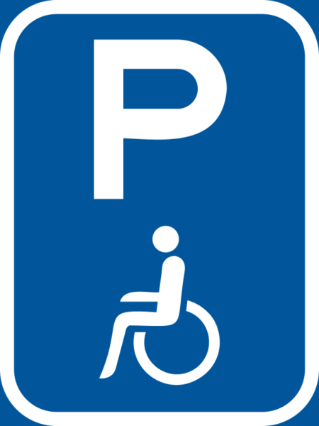 R323-P: Disabled Person Parking Reservation Sign