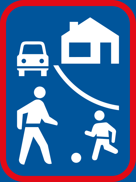 R403: Woon Erf Sign