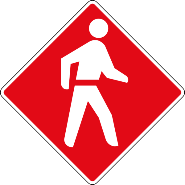 R5: Pedestrian Priority Sign