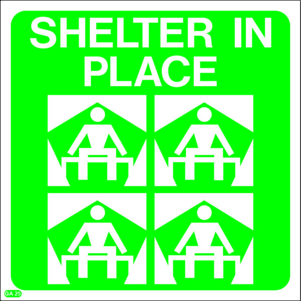 GA25: Shelter In Place