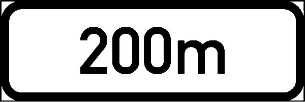 IN11.3: Supplementary Plate Sign