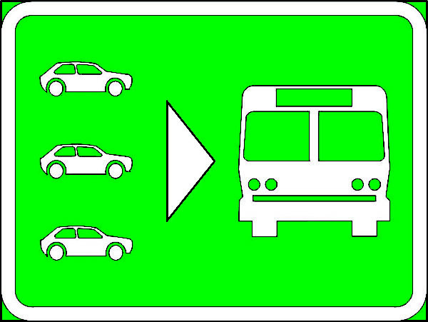 IN10: Park n' Ride Sign