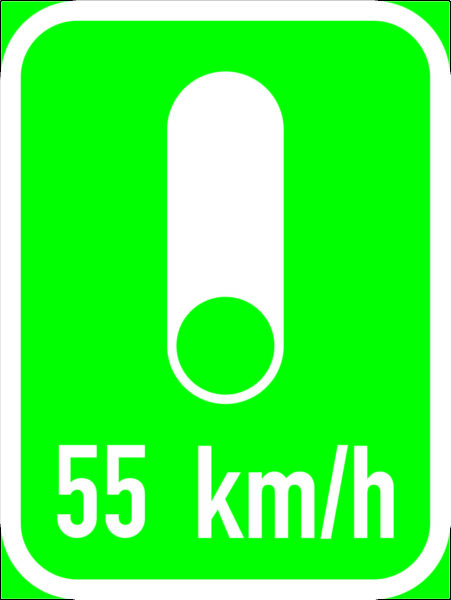 IN14: Co-ordinated  Traffic Signal Sign