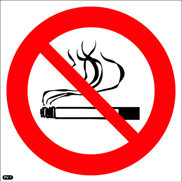 PV1: Smoking Prohibited