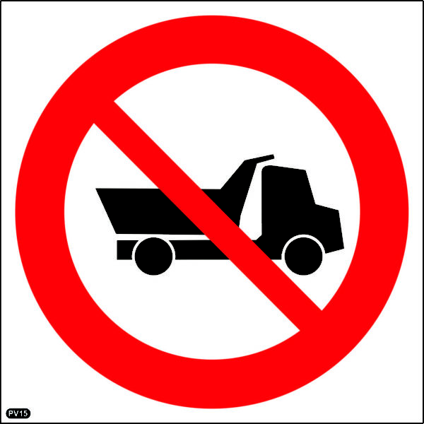 PV15: No Entry For Heavy Vehicles