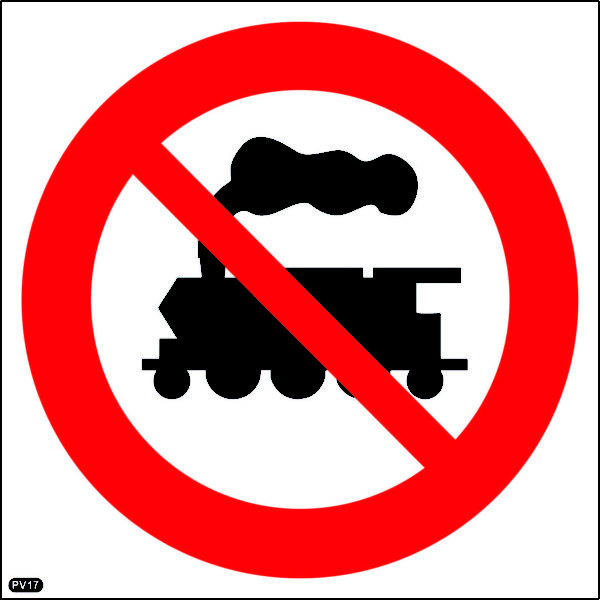 PV17: Locomotive Prohibited Beyond This Point