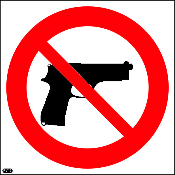 PV19: Carrying Of Fire Arms Prohibited