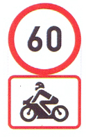 R201-562: Speed Limit, Motor Cycle