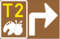 GE18.3: Tourism Route Marker