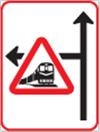 GS901: Junction With Warning Sign