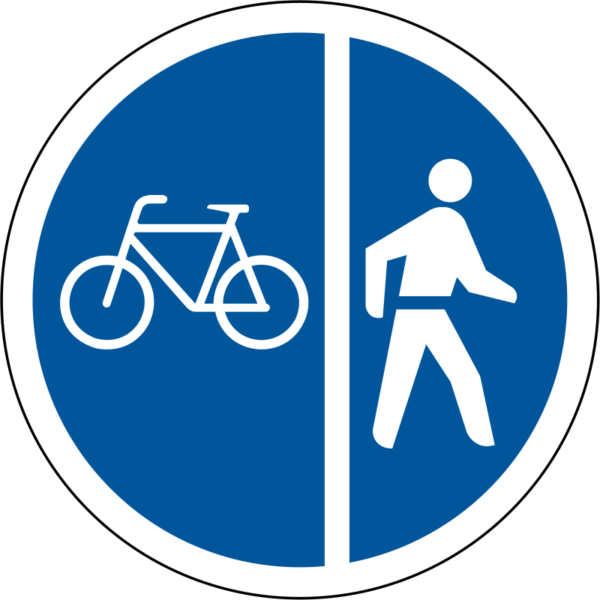 R113: Cyclists/Pedestrians Only