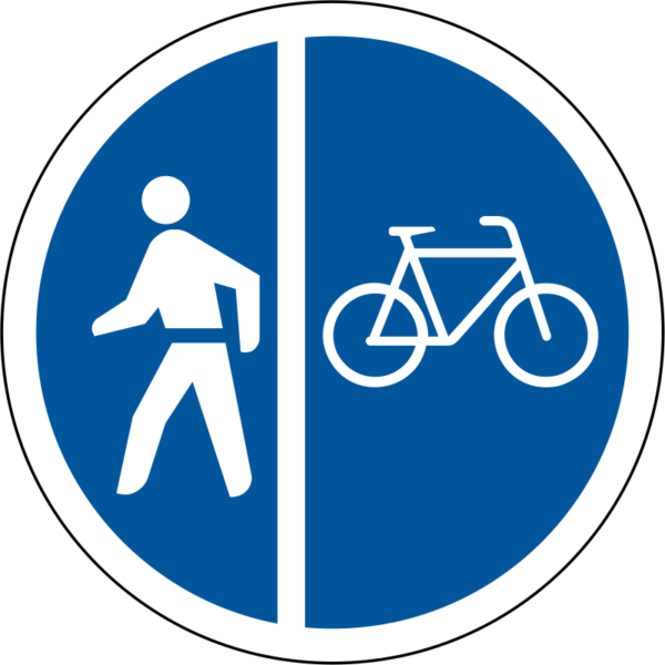 R115: Pedestrians/Cyclists Only