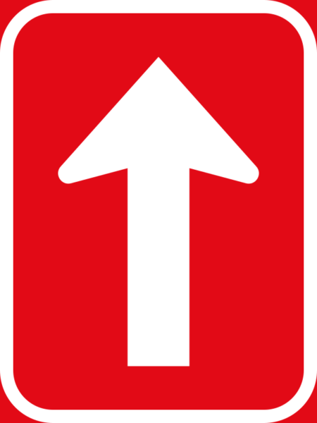 R4.3: One-way Roadway