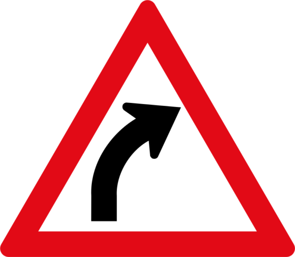 W202: Gentle Curve Right